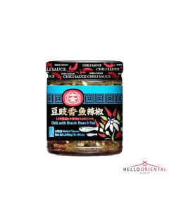 SC BLACK BEAN & CHILLI FISH 240G
