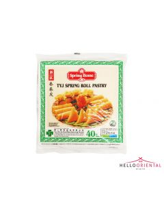 """SPRING HOME TYJ SPRING ROLL PASTRY 550G (40 SHEETS) 8X8"""""""