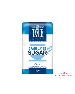 TATE LYLE GRANULATED SUGAR 1KG 白砂糖1公斤