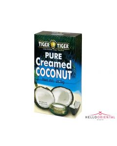 TIGER TIGER PURE CREAMED COCONUT 200G (BOX)