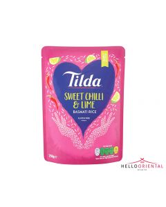 TILDA SWEET CHILLI & LIME BASMATI RICE 250G