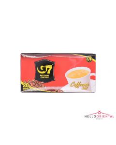 TRUNG NGUYEN G7 INSTANT COFFEE 3-IN-1 320G (20 SACHETS) 三合一速溶咖啡