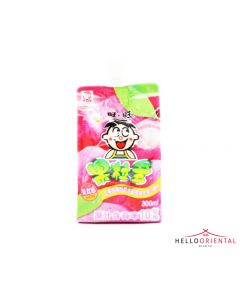 WANT WANT PEACH JUICE DRINK 300ML