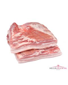 WHOLE PORK BELLY (PACK OF 1) 500g 五花猪肉