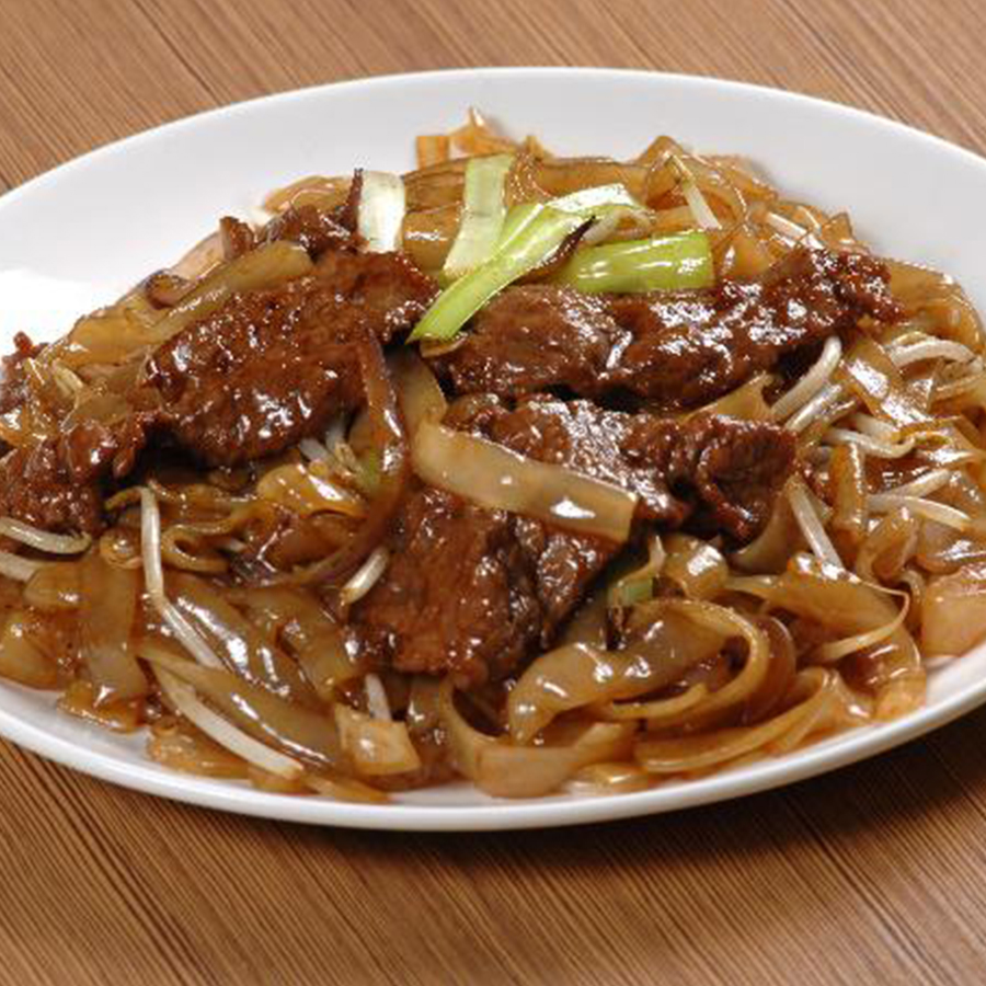 Stir Fried Beef Rice Noodles